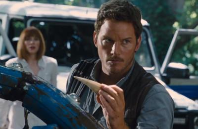Chris Pratt Hooked On A Dino Feeling