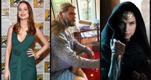 Comic-Con MovieSpoon.com Thor Captain Marvel Wonder Woman