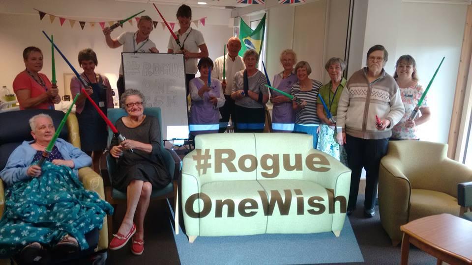 Rogue One Terminally Ill Fan MovieSpoon.com