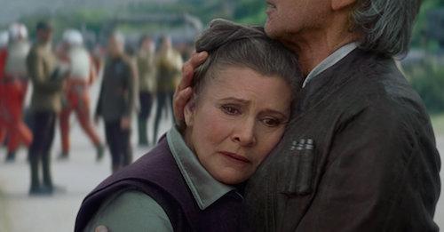 Carrie Fisher Princess Leia MovieSpoon.com