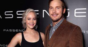 Chris Pratt Jennifer Lawrence Passengers MovieSpoon.com