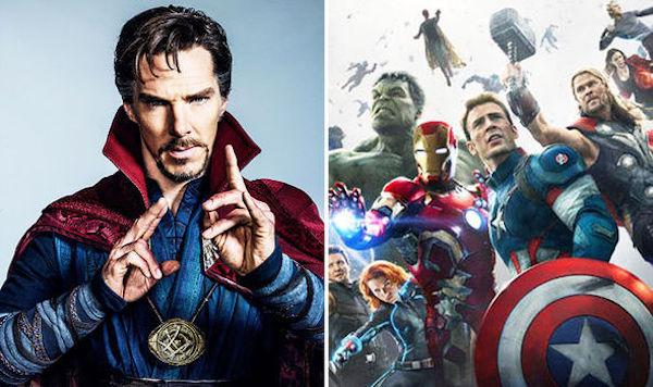 Doctor Strange Benedict Cumberbatch Avengers: Infinity War MovieSpoon.com