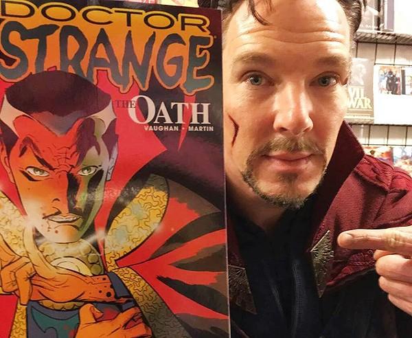 Benedict Cumberbatch Doctor Strange MovieSpoon.com