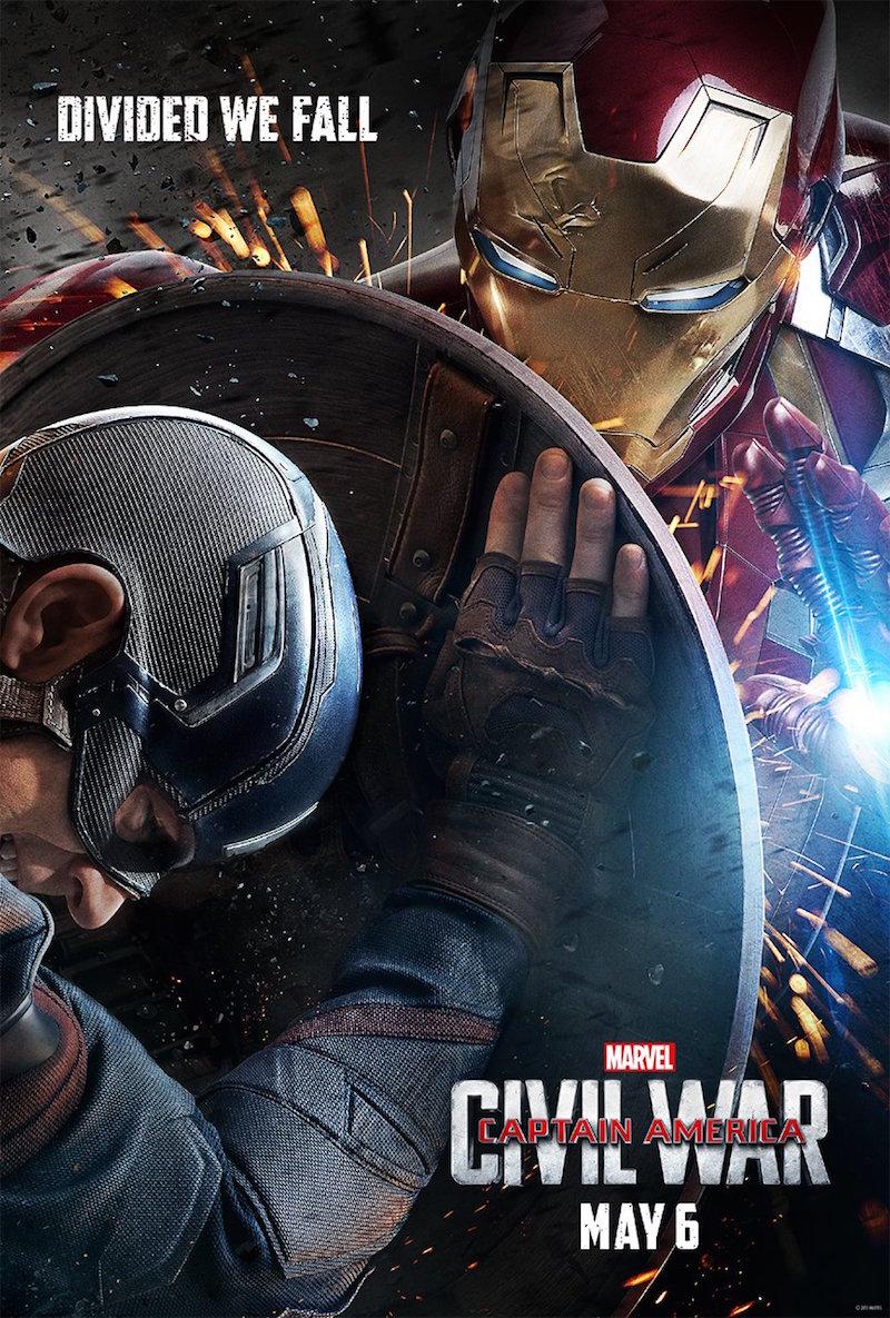 Captain America Civil War Poster Marvel MovieSpoon.com