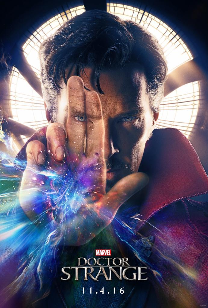 Doctor Strange Trailer Poster Benedict Cumberbatch MovieSpoon.com