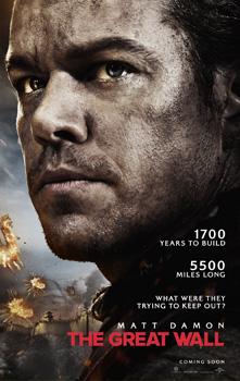 The Great Wall MovieSpoon.com Matt Damon